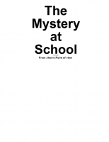 The Mystery at School