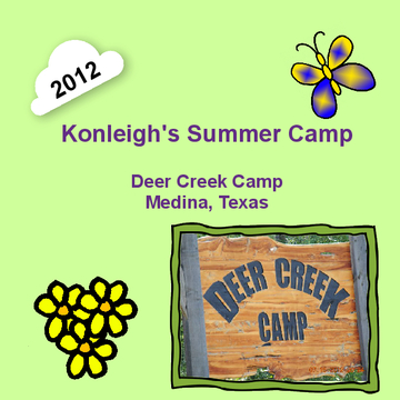 Konleigh's Camp Book Summer 2012