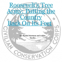 Roosevelt's Tree Army: Putting the Country Back on Its Feet