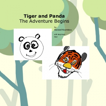 Tiger and Panda Start Their Adventure