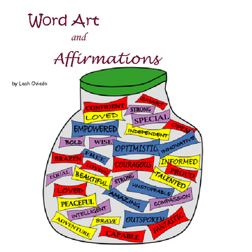 Word Art and Affirmations
