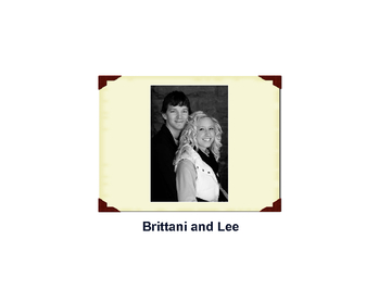 Brittani and Lee
