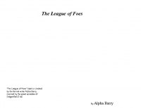 The League of Foes