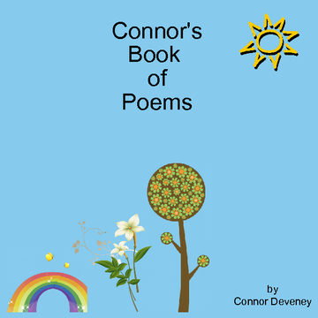 Connor's poetry book