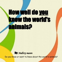 How well do you know the world's animals?