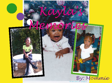 Ni'Kayla's Memories Book