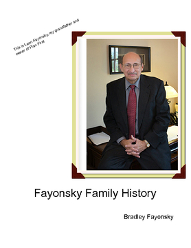 The Fayonsky Family History