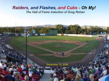 Raiders, and Flashes, and Cubs, Oh My!