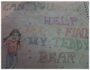 Can you help me find my teddybear?