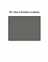 Mt. Zion Christian Academy