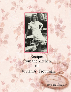 Recipes from the Kitchen of Vivian A. Troutman