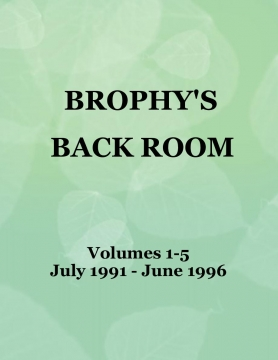 Brophy's Back Room - Volumes 1-5