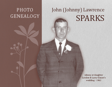 Sparks Photo Genealogy