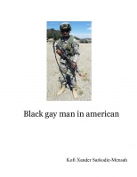 Black gay man in american