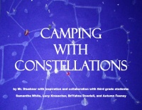 CAMPING WITH CONSTELLATIONS STORY BOOK