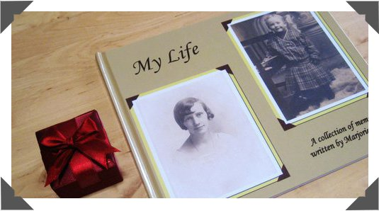Elegant Full Color, Hardcover Memoir