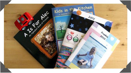 Choice of size and orientation for Softcover Children Books