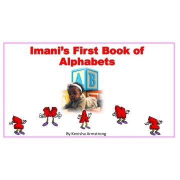 Imani's first Book of Alphabets