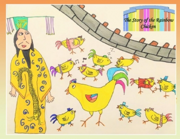 The Story of the Rainbow Chicken