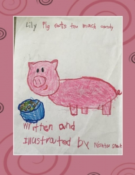Lilly Pig Eats Too Much Candy