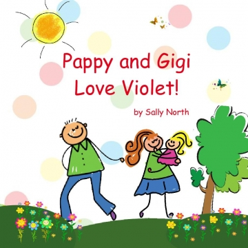 Pappy and Gigi Love Violet!