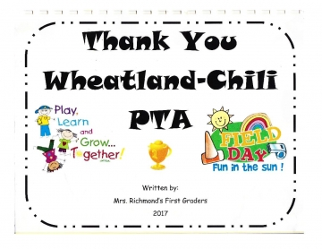 Thank you Wheatland Chili PTA 2017