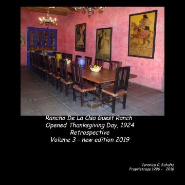 Rancho De La Osa's Recipes - Volume 3