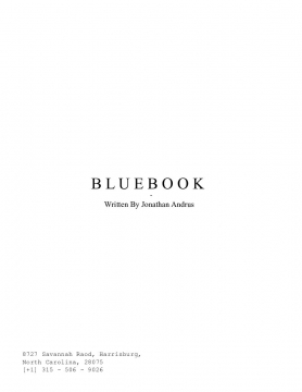 Blue Book Pitch