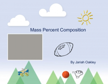 Mass Percent Composition