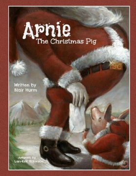 Arnie the Christmas Pig