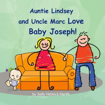 Auntie Lindsey and Uncle Marc Love Baby Joseph!