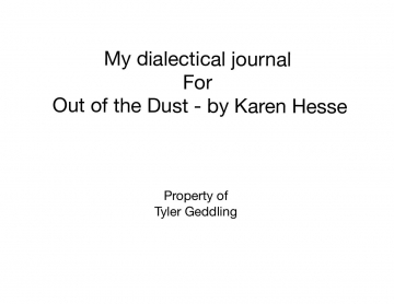 Dialectical Poem