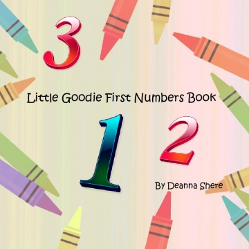 Little Goodie First Numbers  Book