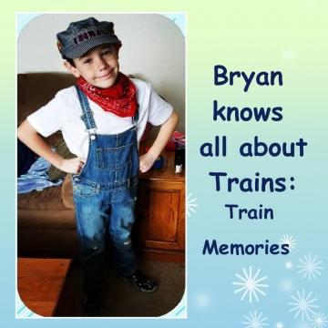 Bryan knows all about Trains