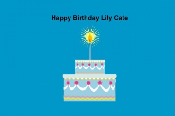 Happy Birthday Lily Cate