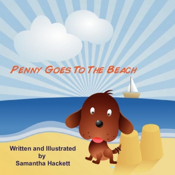 Penny Goes To The Beach