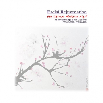 Facial Rejuvenation~ the Chinese Medicine Way!