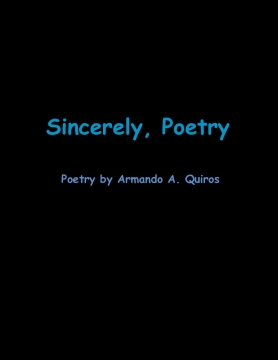 Sincerely, Poetry