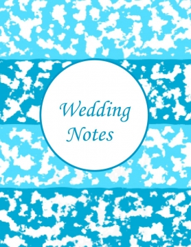 Wedding Notes Journal