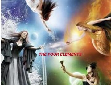 The girls with elements