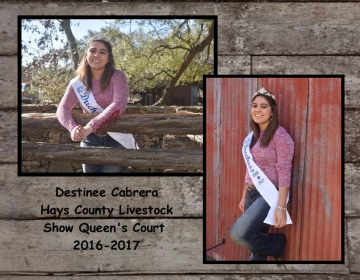 Queens Court 2017 Destinee Cabrera