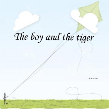 The boy and the tiger