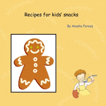 My Recipes for Kids snacks
