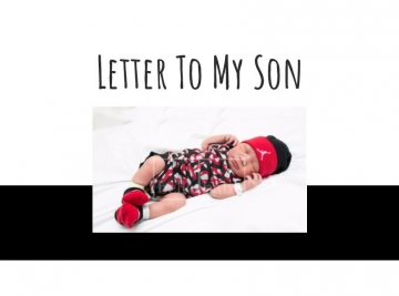 Letter to My Son