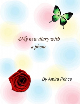 My new diary with a phone