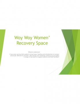 Woy Woy Womens Recovery Space
