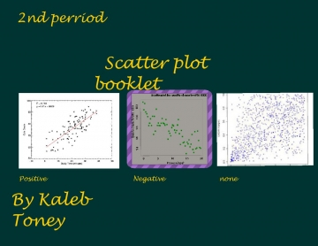 Scatter plot booklet