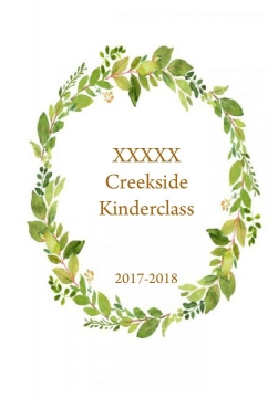 Creekside Kinderclass 2017-2018
