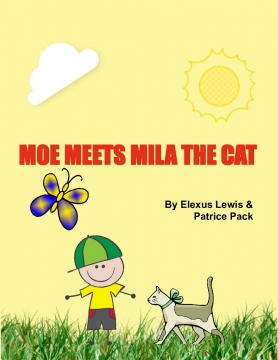 MOE MEETS MILA THE CAT