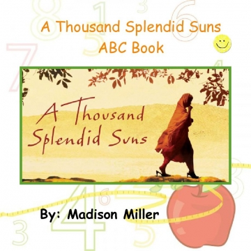 A Thousand Splendid Suns ABC Book